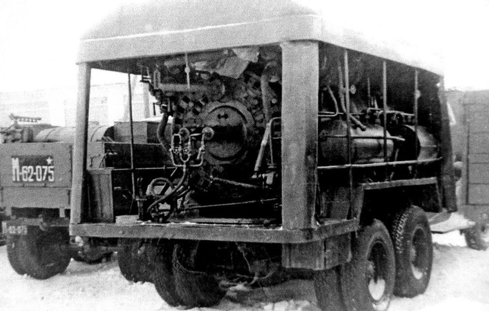 Дегазатор АГВ-2 для чистки обмундирования горячим воздухом или паром (из архива Н. Маркова)