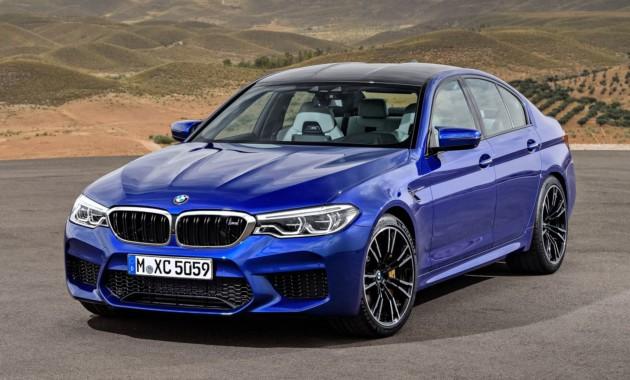 BMW отзывает в России глохнущие спортседаны M5