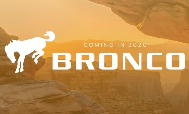 Новый Ford Bronco: рамный внедорожник с 7-ступенчатой МКП