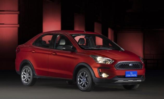 Форд рассекретил небольшой и дешевый кросс-седан