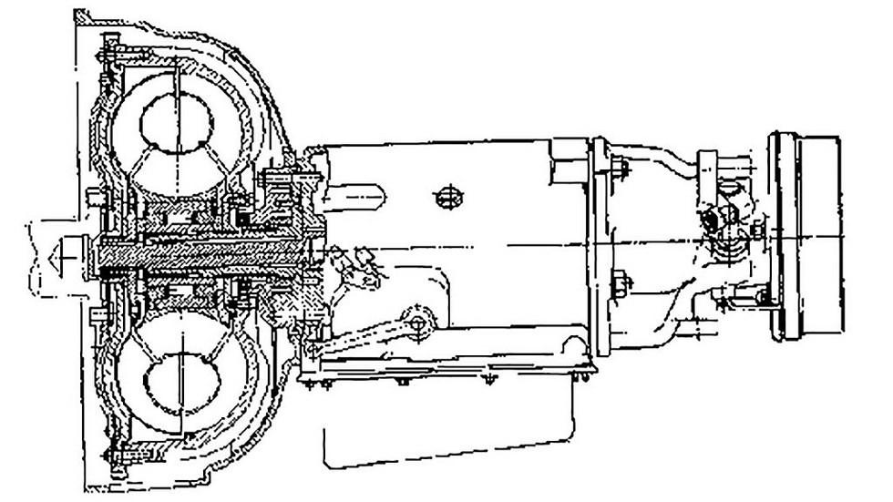 схема ГАЗ 13