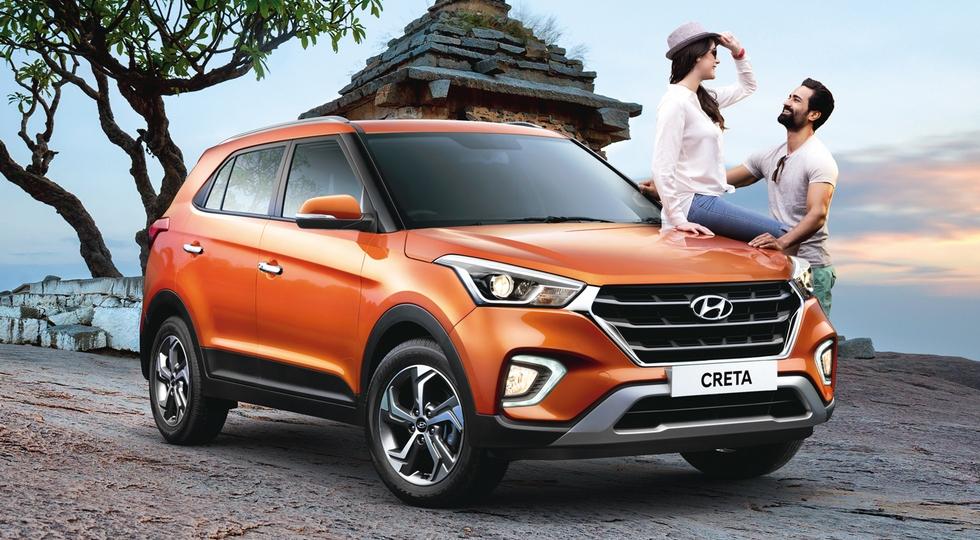 Hyundai Creta первого поколения, обновленная версия для Индии
