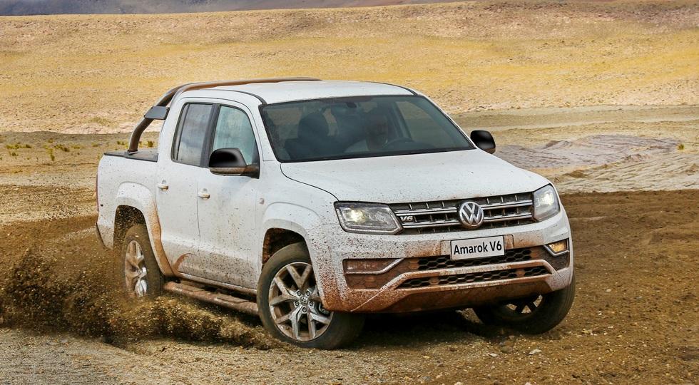 Volkswagen прирастает пикапами: готовится конкурент для Fiat Toro и Renault Duster Oroch