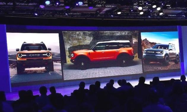 ВСеть попали первые официальные изображения джипа Ford Bronco