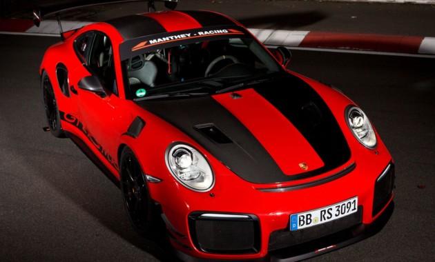 Суперкар Порш 911 GT2 RSMR стал самым быстрым наНюрбургринге