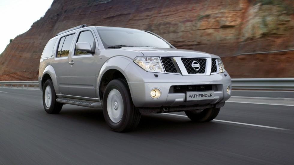 Nissan Pathfinder (R51) '2004–10 на трассе