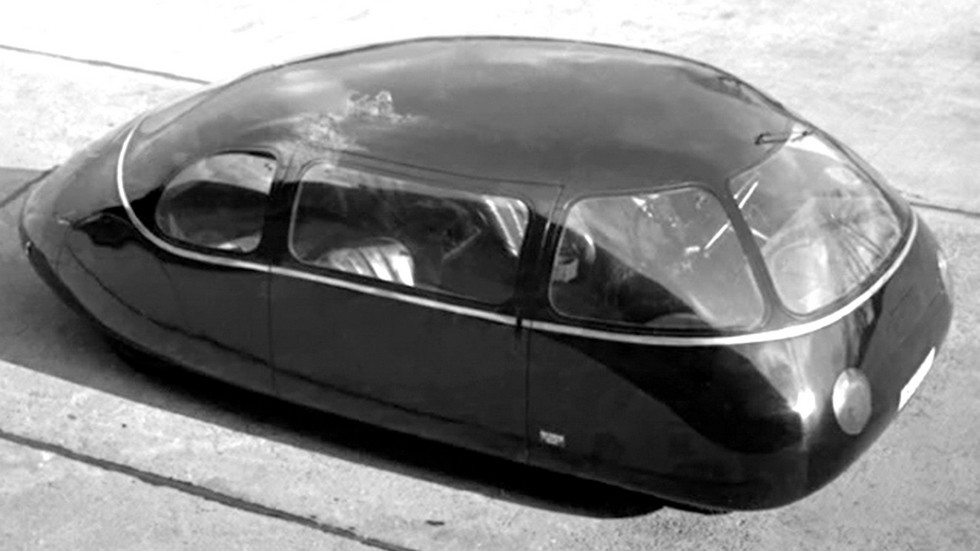 Аэродинамический 38-сильный автомобиль Schlörwagen конструкции Карла Шлёра