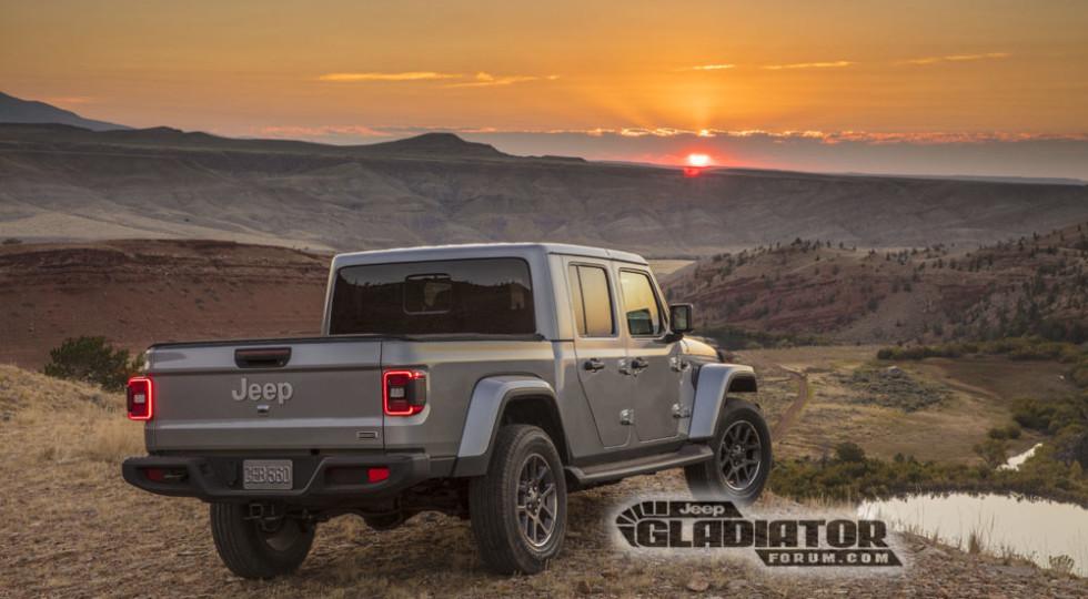 FCA рассекретила новый Jeep Gladiator, а потом передумала