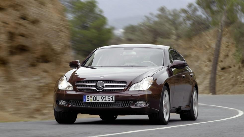 3 Mercedes-Benz CLS 280 (С219) '2008–07.2010