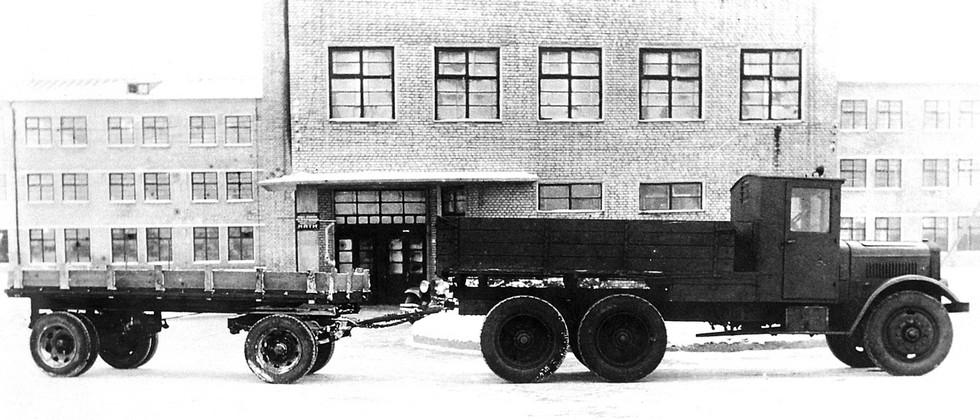 Испытания опытного грузовика Я-НАТИ-9