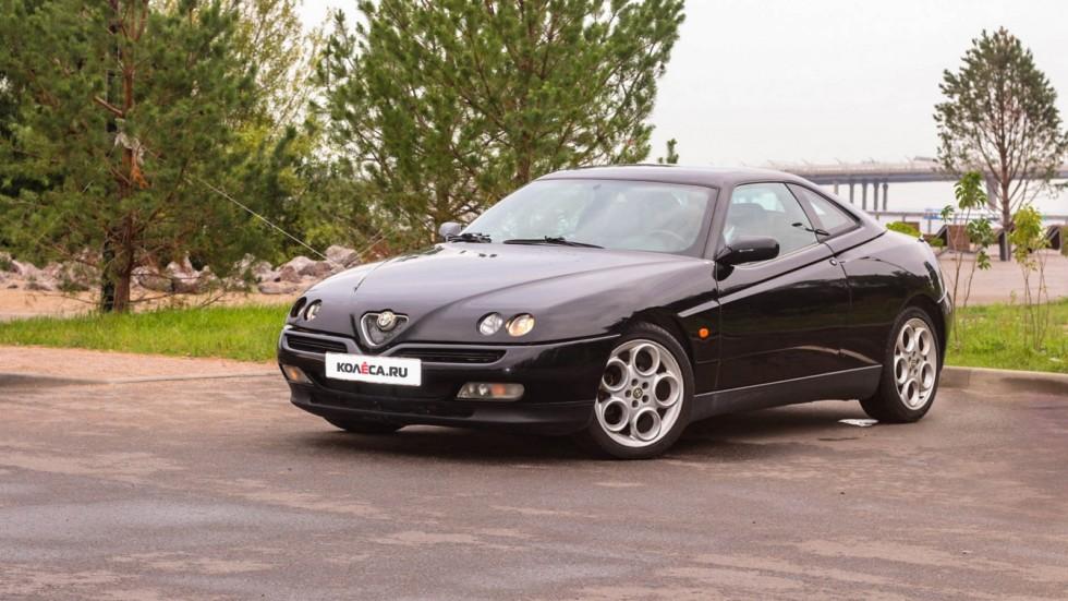 Alfa Romeo GTV три четверти (4)