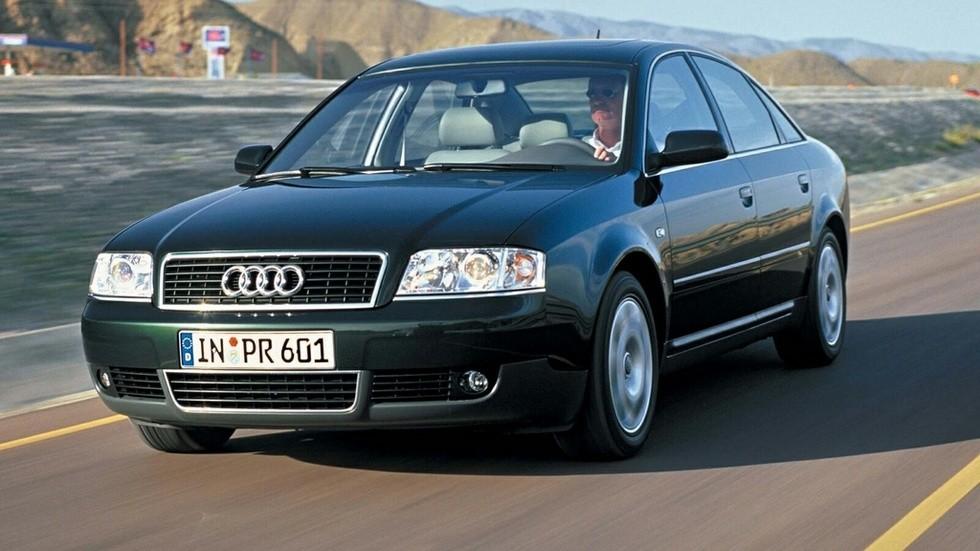 Audi A6 1.9 TDI Sedan (4B,C5) '2001–04