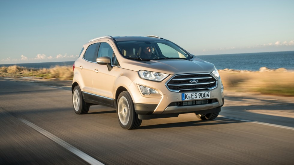 Ford EcoSport Worldwide '2017–н.в. на трассе