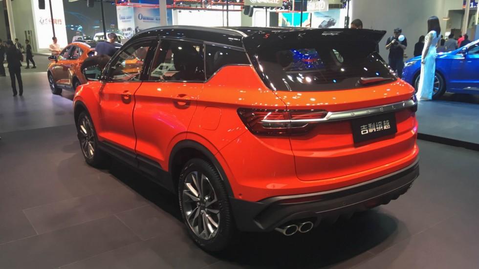 Geely SX11 оранжевый сзади (2)