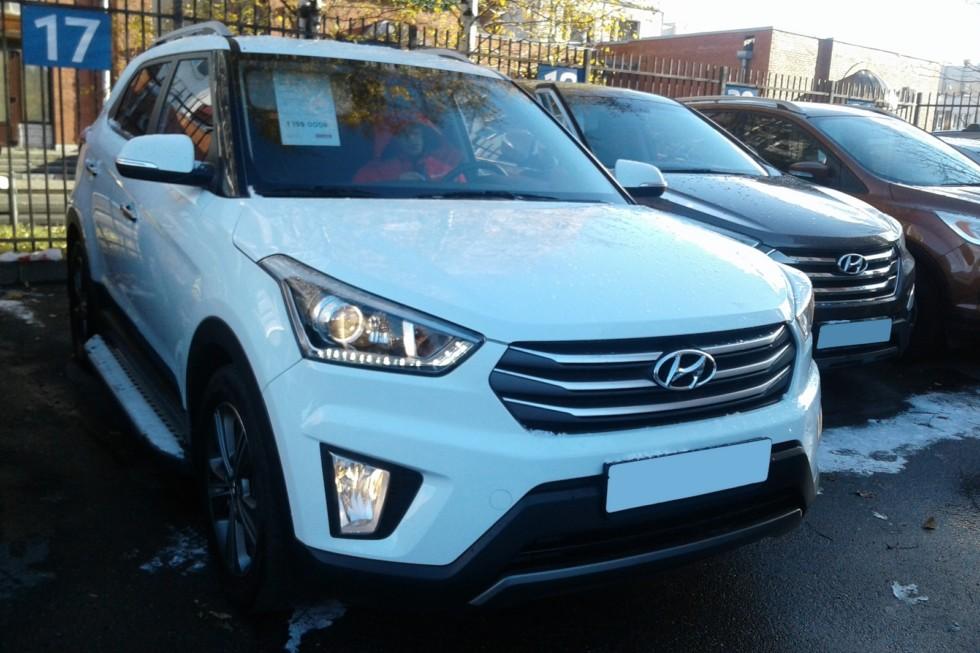 Hyundai Creta белый