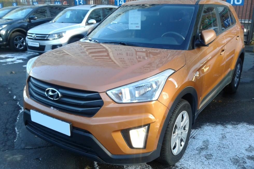 Hyundai Creta оранжевый