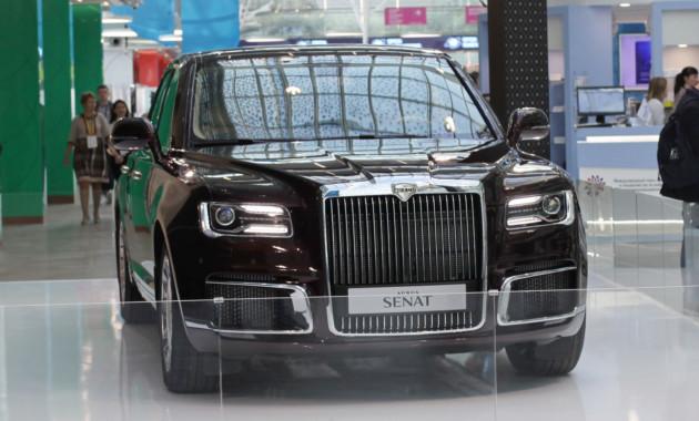 Просили больше не занимать: Aurus распродал все автомобили на два года вперёд