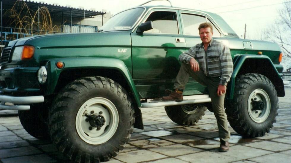 LAF 4101 на базе Волги ГАЗ 31029