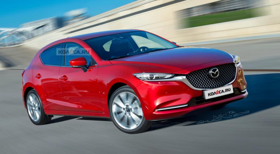 Дерзкая малоежка: Mazda назвала дату премьеры новой «трёшки»