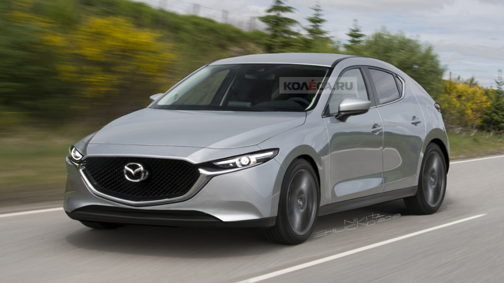 Mazda 3 new front2
