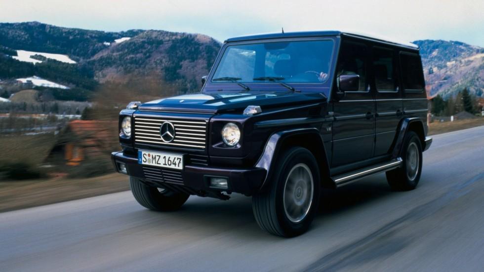 Mercedes-Benz G 500 (W463) '1998–2002