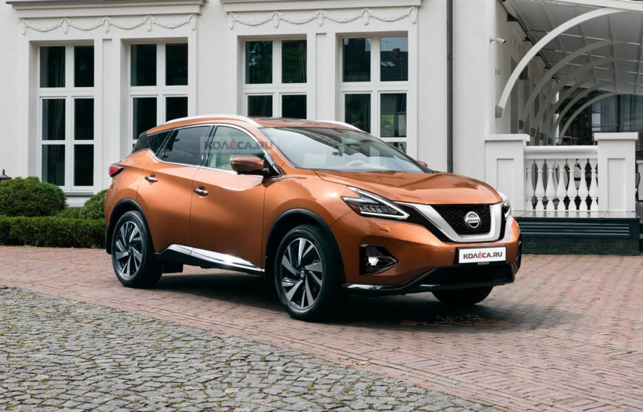 Обновлённый Nissan Murano: первые изображения