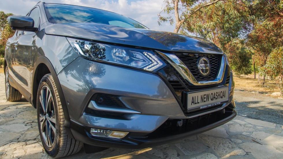 Nissan Qashqai спереди