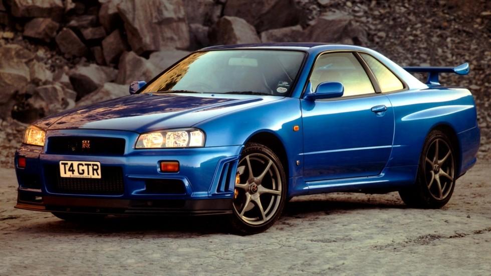 Nissan Skyline GT-R (BNR34) '01.1999–08.2002