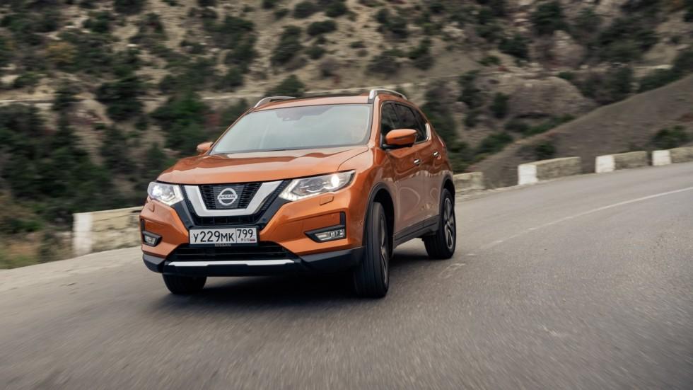 Nissan X-trail оранжевый (4)