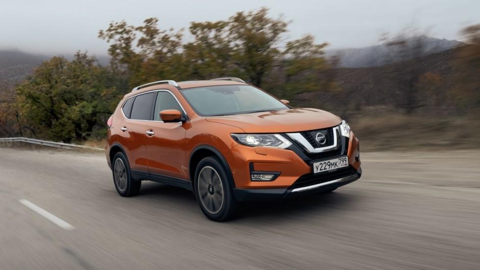 Nissan X-trail оранжевый (5)