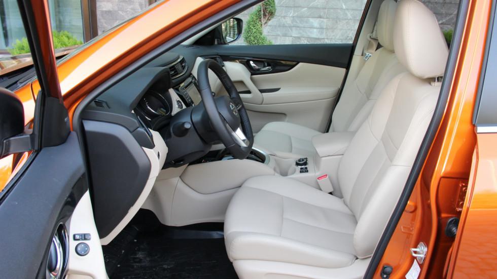 Nissan X-trail передние сидения (2)