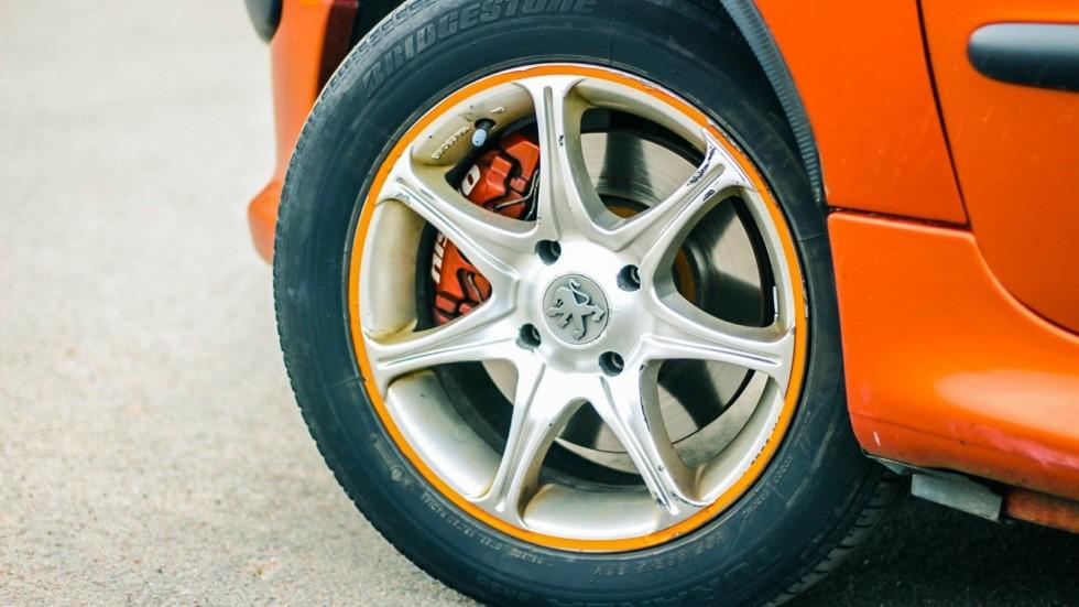 Peugeot 206 СС колеса