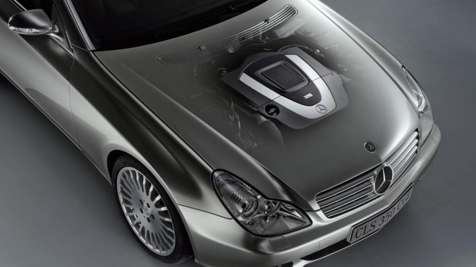 Под капотом Mercedes-Benz CLS 350 CGI (C219) '2006–07.2010з