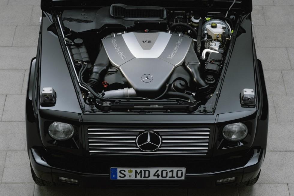 Под капотом Mercedes-Benz G 400 CDI (W463) '09.2000–02