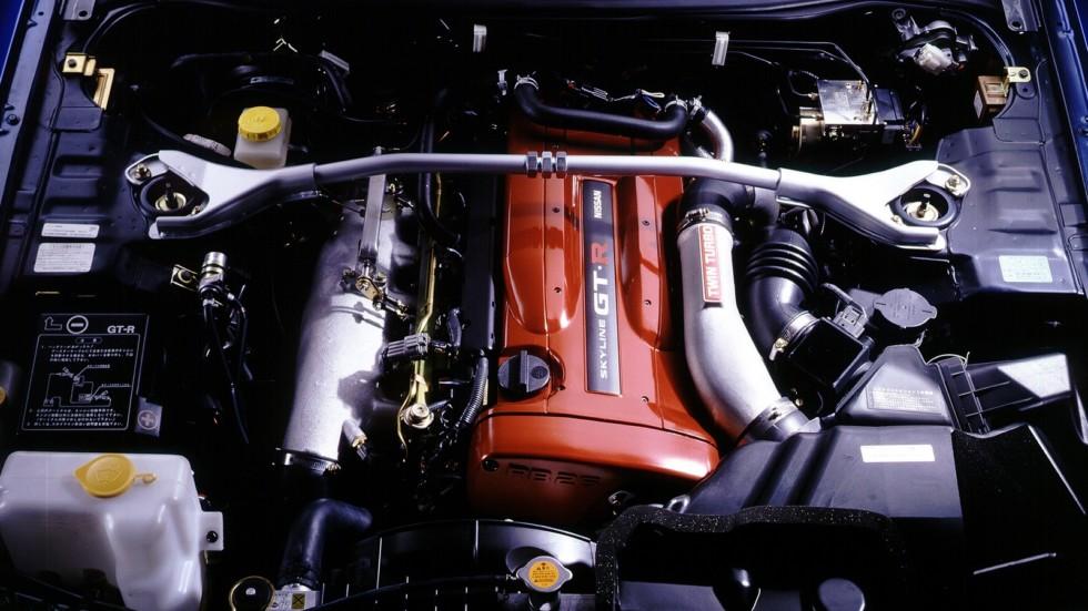 Под капотом Nissan Skyline GT-R (BNR34) '01.1999–08.2002