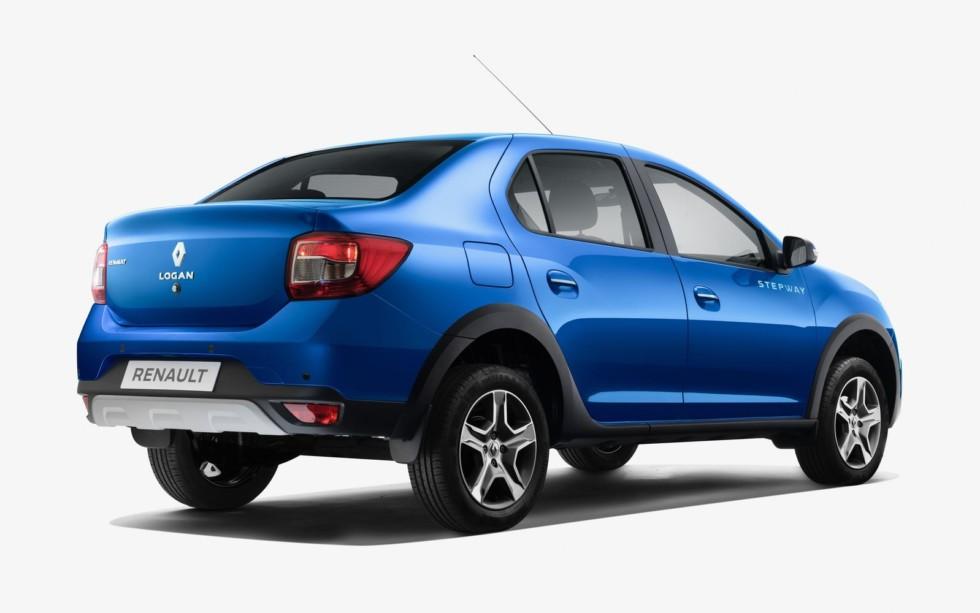 Renault Logan Stepway создан в пику российскому кросс-седану Lada Vesta Cross.