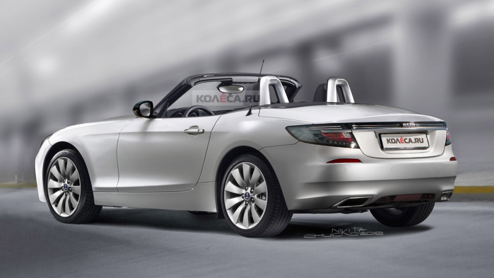 SAAB Roadster rear
