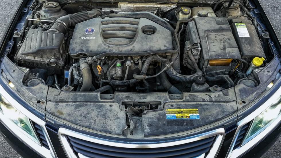 Saab 9-5 двигатель