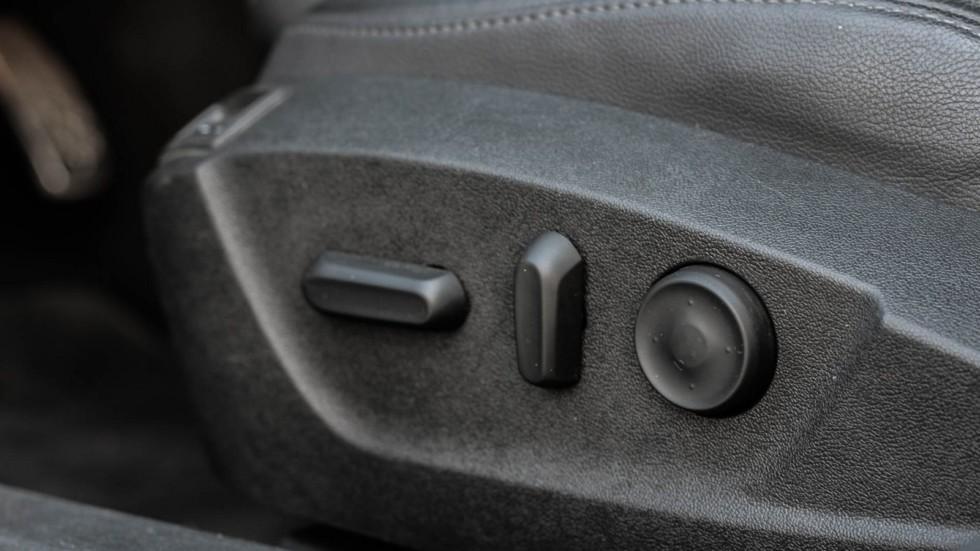 Saab 9-5 регулировка сидения