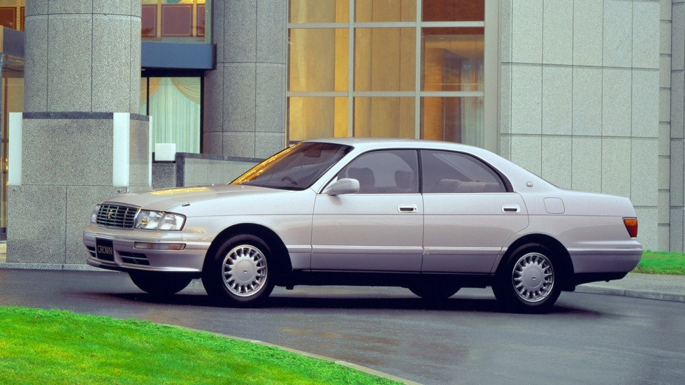 Toyota Crown (S140) '08.1993–95