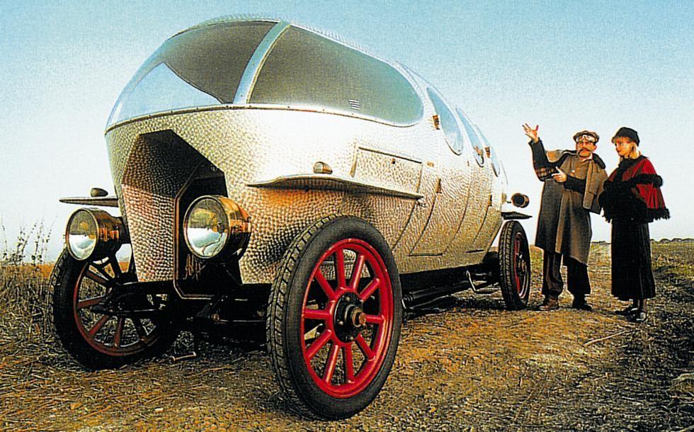 аэродинамическая легковушка Alfa Romeo Aerodinamica