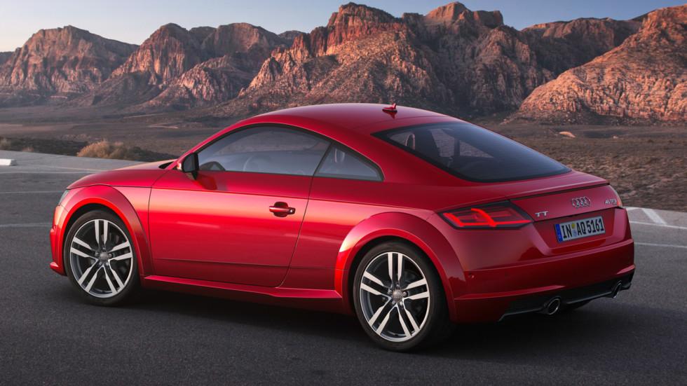 На фото: обновлённая версия Audi TT