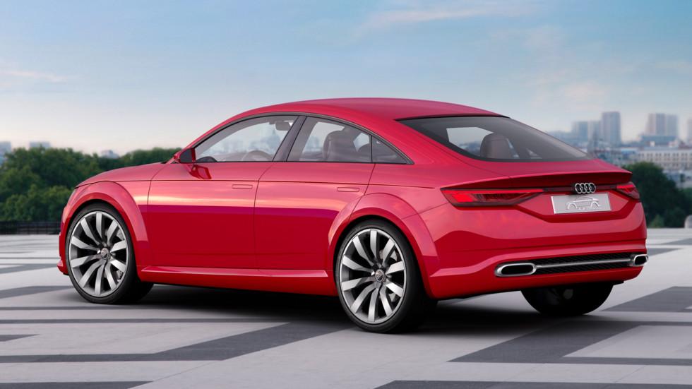 На фото: концепт Audi TT Sportback