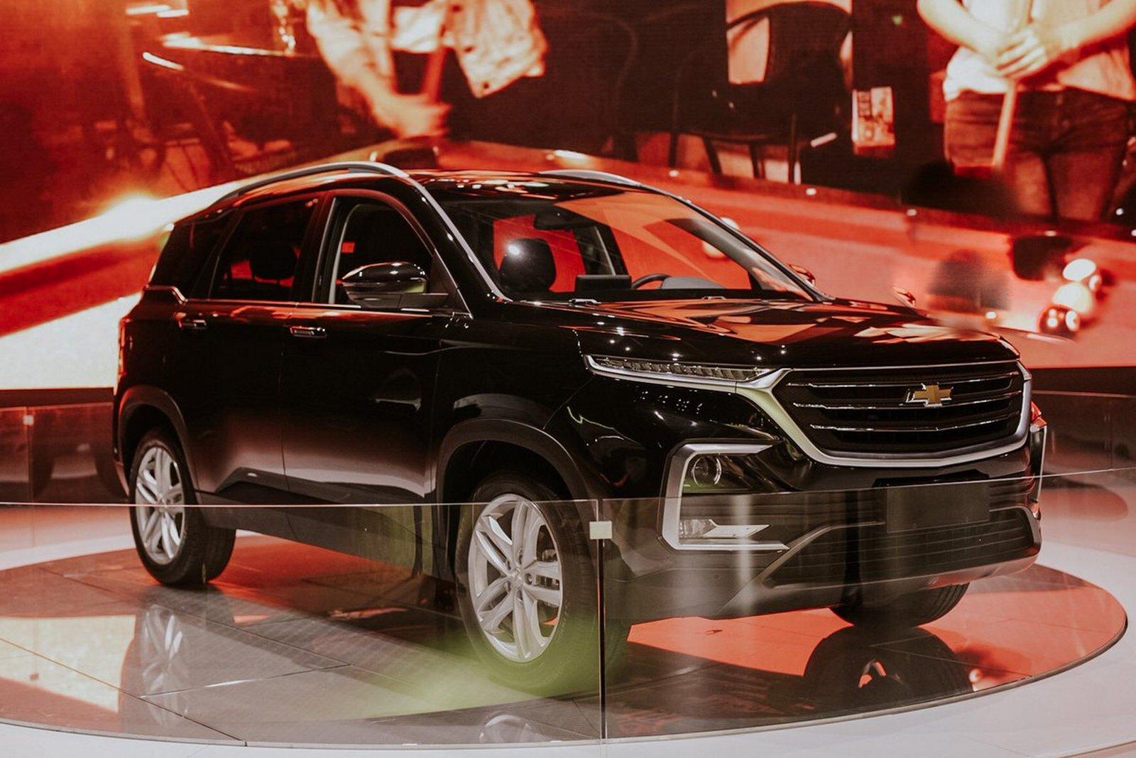 La marca Chevrolet presentó de repente la nueva generación Captiva.