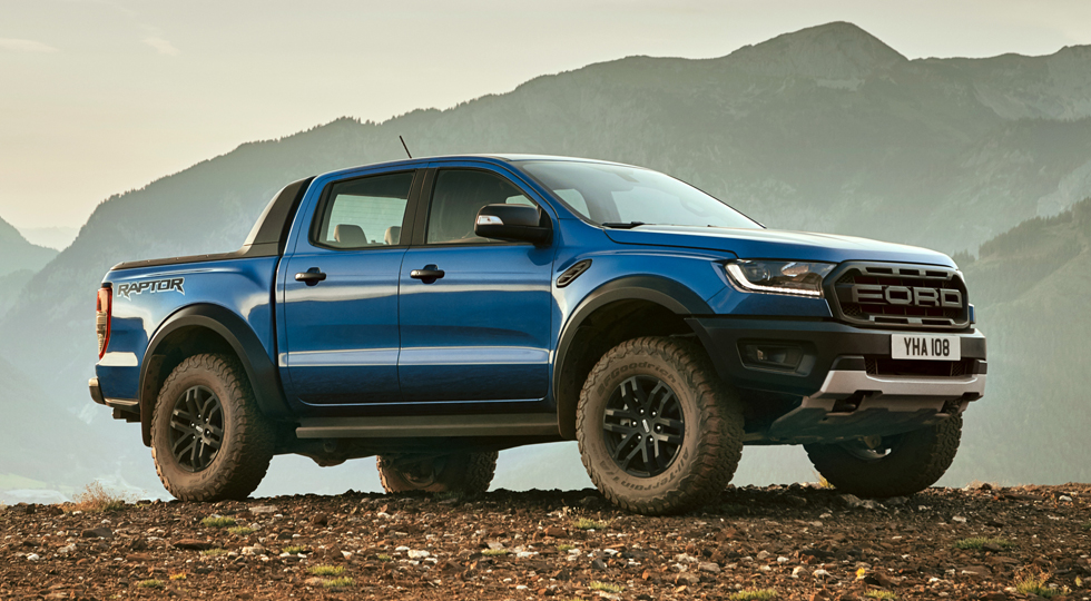 На фото: Ford Ranger Raptor