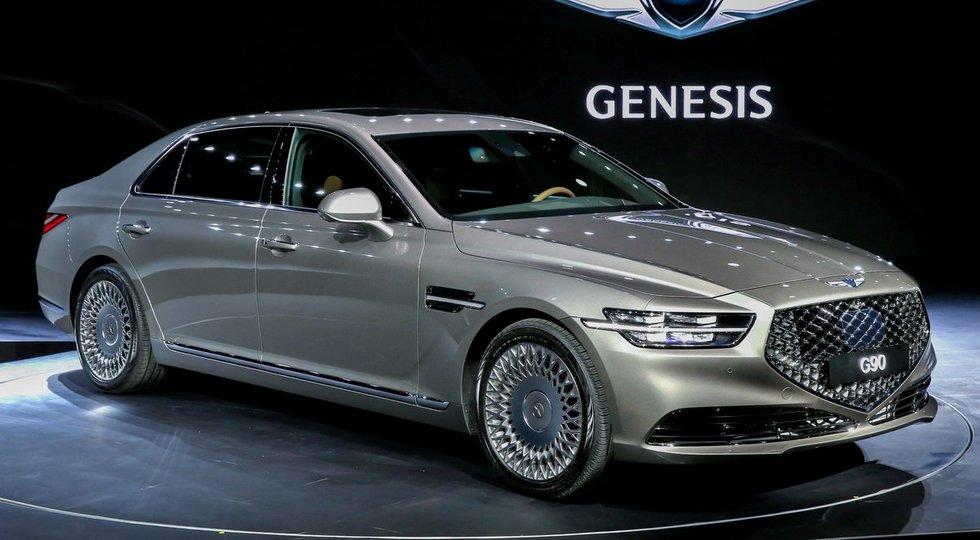 Обновленный Genesis G90