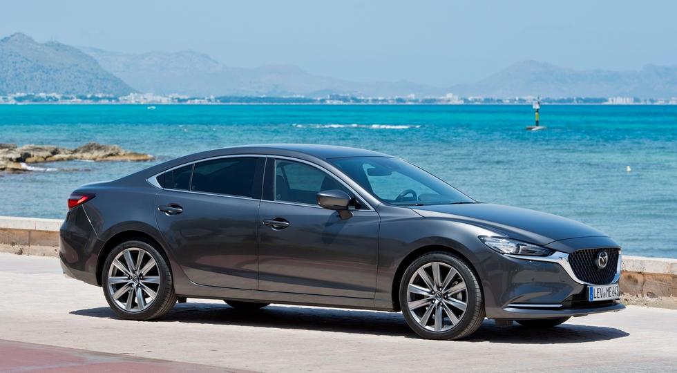 Обновлённая Mazda6 в России: турбомотор и подорожание на 56 000 – 105 000 рублей