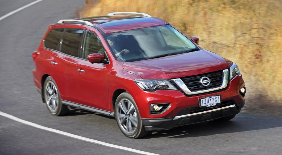 На фото: Nissan Pathfinder (для рынка Австралии)