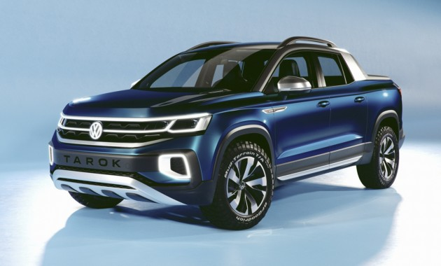 Пикап VW Tarok на базе Тигуана: статус глобальной модели и цена ниже, чем у Amarok