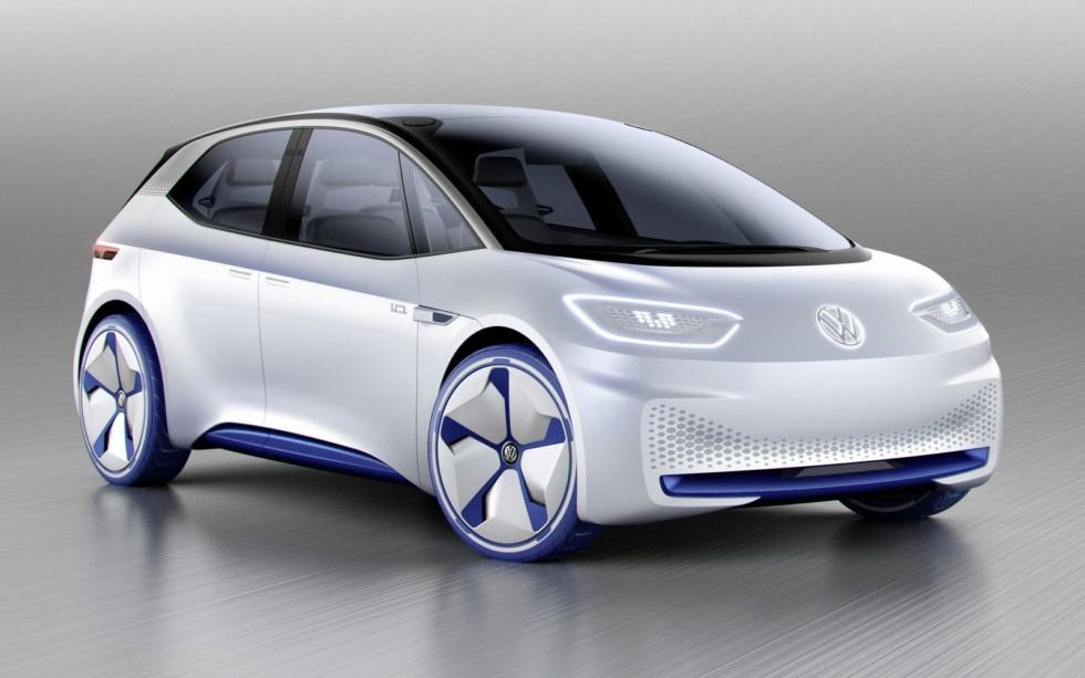 Концептуальный Volkswagen I.D. превратится в серийный электрический хэтчбек I.D. Neo в 2020 году.